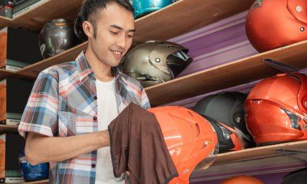 Nettoyage de votre casque moto: la bonne technique