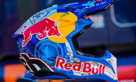 Où trouver un casque de moto cross de la marque des sports extrême Red Bull ?